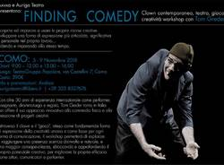 Workshop di Clown, Teatro e creatività con Tom Greder