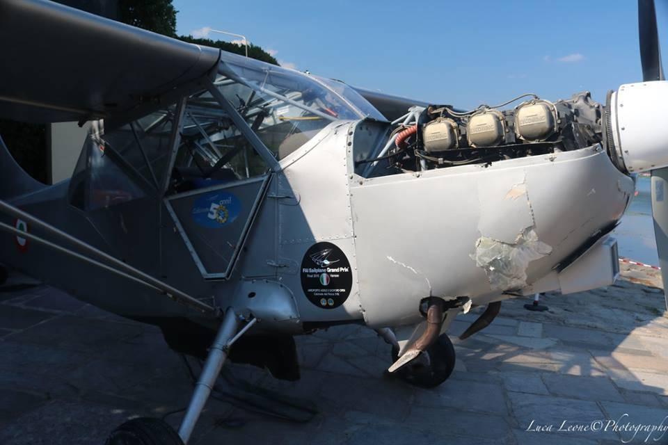 Tirato in secca l\'aereo caduto nel lago