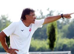Il Varese in campo contro il Fenegrò