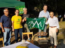 Legambiente: la bandiera verde al Parco Campo dei Fiori