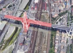 Crolla il ponte Morandi a Genova