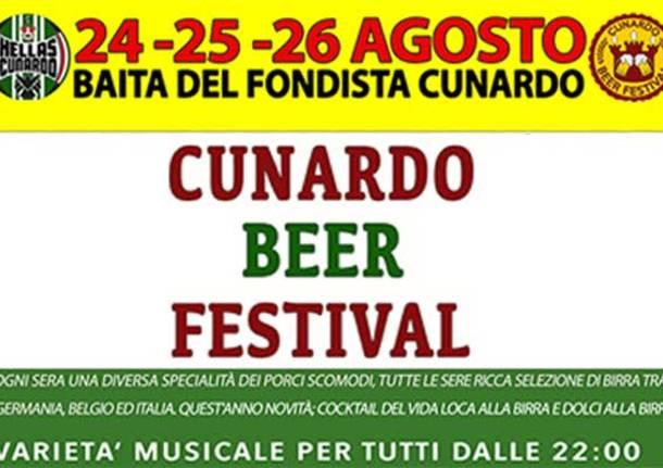 cunardo beer festival