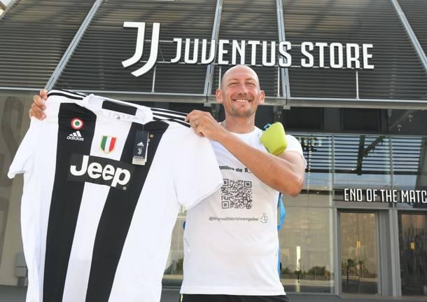 d5b8924464 Oltre 140 chilometri a piedi, da Varese fino a Torino allo Juventus  Stadium, in 3 giorni e con zaino in spalla, nella settimana più calda dell'anno,  ...