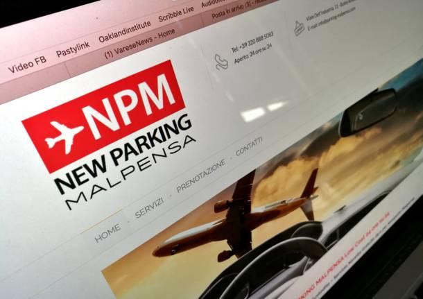 new parking malpensa