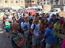 Gran Fondo 2018 : ciclisti e stranieri in città