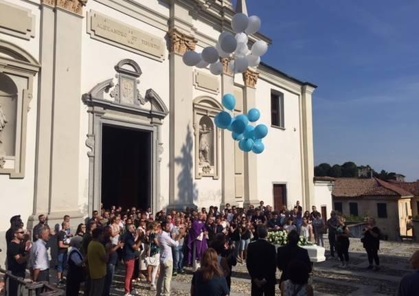 I funerali di Valentina Guerra