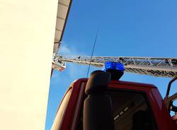 Incendio di Ferragosto a Malnate