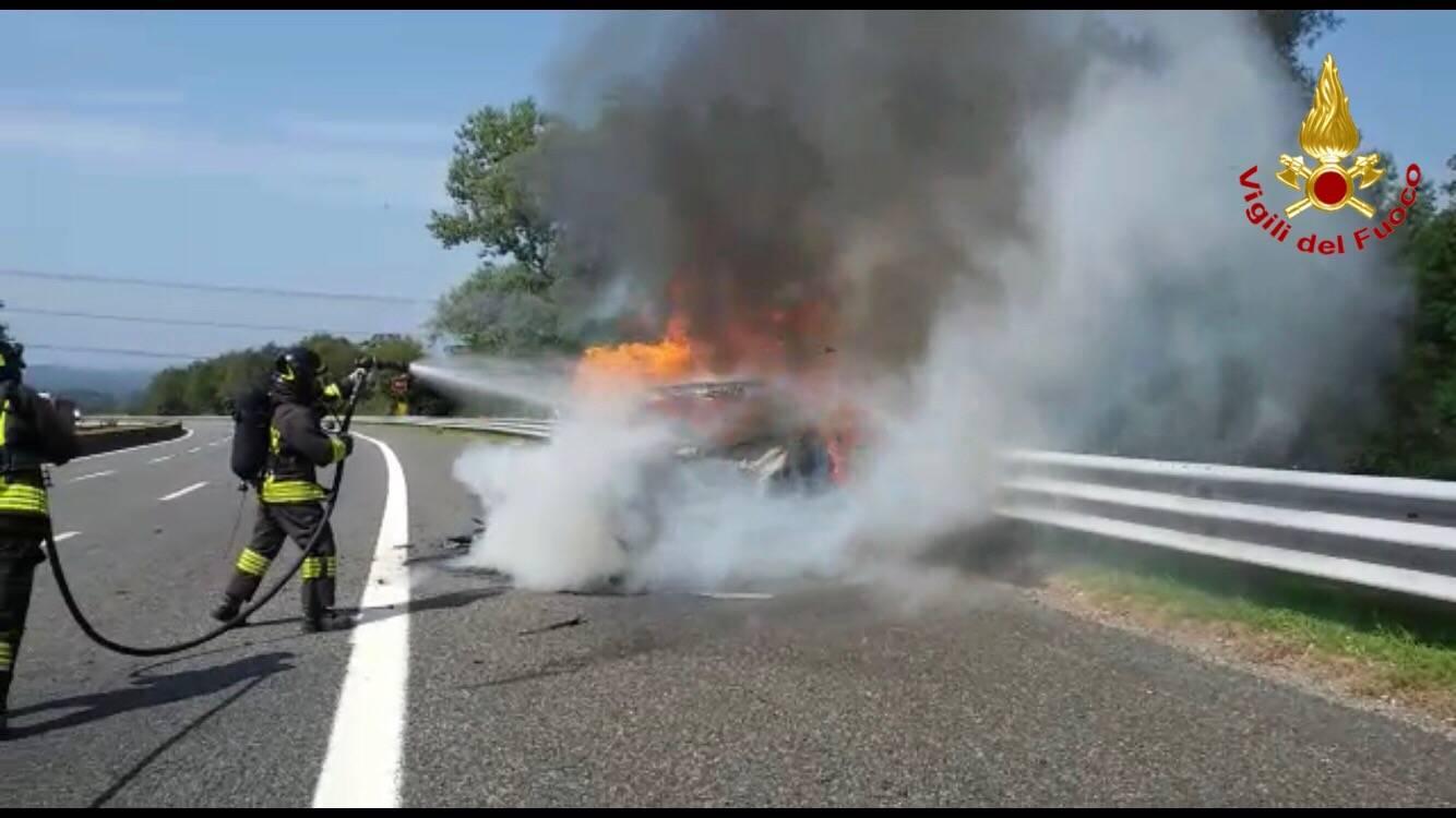 Incendio Mercedes A8-A26