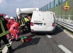 Incidente A9 Origgio