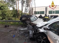 Incidente stradale Gavirate Sp1 9 agosto 2018
