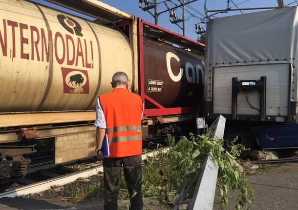 L'incidente ferroviario di Ternate