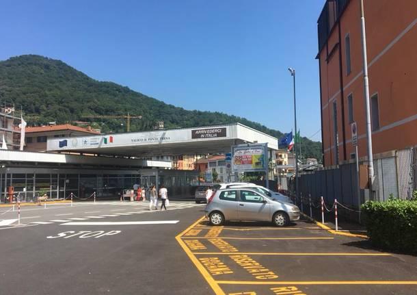 Lavena Ponte Tresa - Completata la riqualificazione dell'area doganale