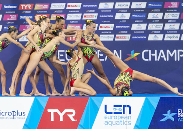 701ffd27ac8d nuoto sincronizzato europei glasgow 2018 gemma galli