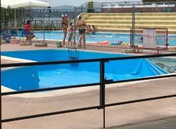 Out piscina dei bambini a Schiranna