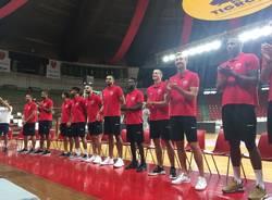 Pallacanestro Varese, la presentazione della stagione 2018/2019