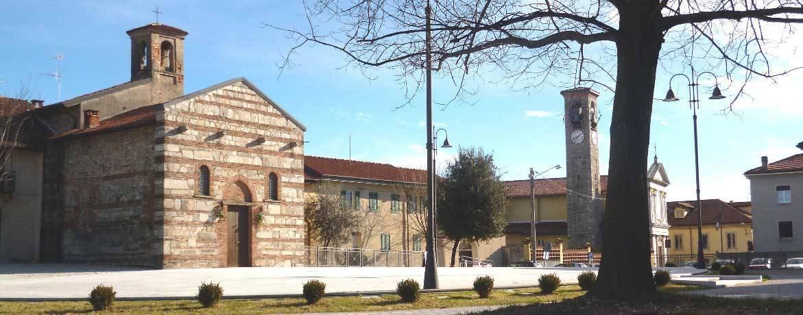 Piazza Santa Maria del Castello Besnate