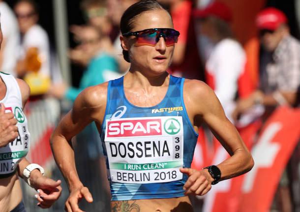 sara dossena maratona europei berlino 2018 foto colombo/fidal