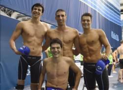 staffetta oro campionati europei nuoto paralimpico simone barlaam