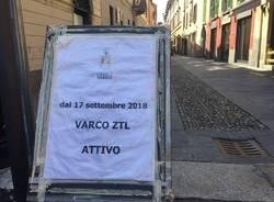Videocamere in tutta la ztl di Varese