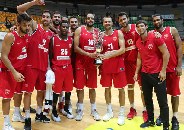 basket pallacanestro openjobmetis varese trofeo lombardia 2018