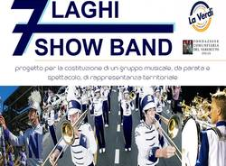 7 LAGHI SHOW BAND  1° incontro  musicale sezione percussioni