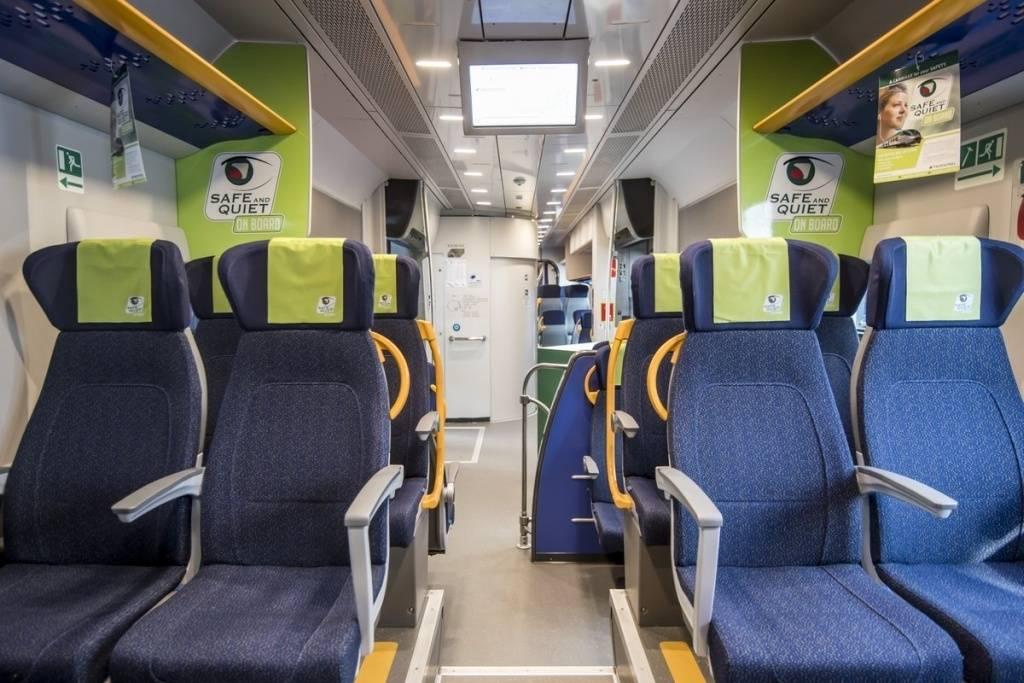 Più sicurezza in treno