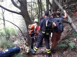 Escursionisti in difficoltà al Campo dei Fiori