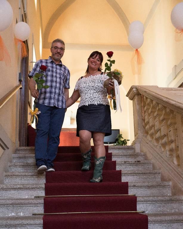 Matrimonio Francesca e Mauro, condiviso