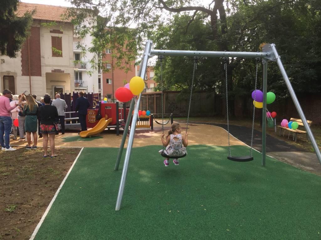 Il nuovo parco giochi inclusivo