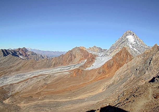 Il gran Zebru, valle Zebru alta Valfurva