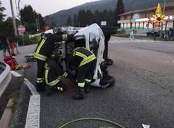 Incidente sulla statale Besozzo-Vergiate