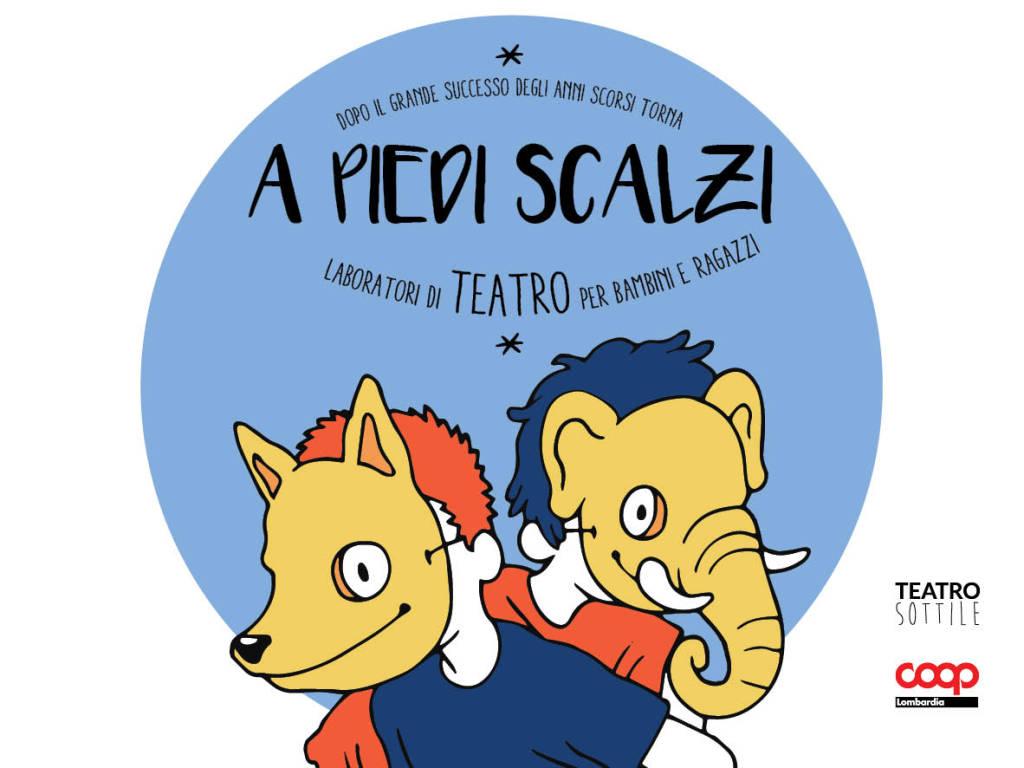 A PIEDI SCALZI - Laboratori di teatro per bambini e ragazzi