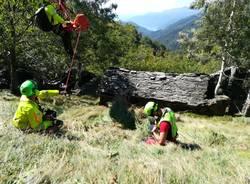 Cercatore di funghi muore a Curiglia