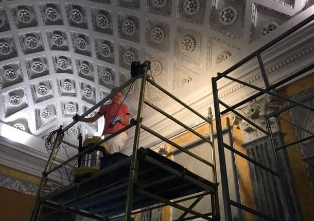 Sala dei Papi di Casciago, via al restauro