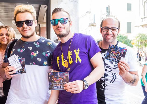 Il Pagante incontra i fan alla Mondadori