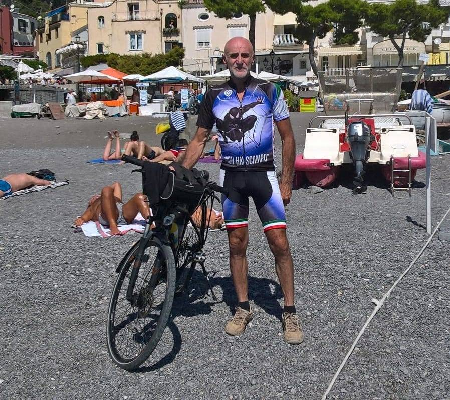 In bici dalla Costiera Amalfitana a Bari
