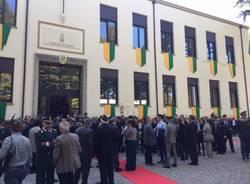 inaugurazione caserma guardia di finanza gallarate