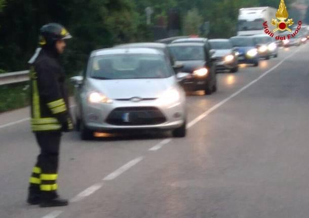 incidente stradale Groppello 20 settembre 2018