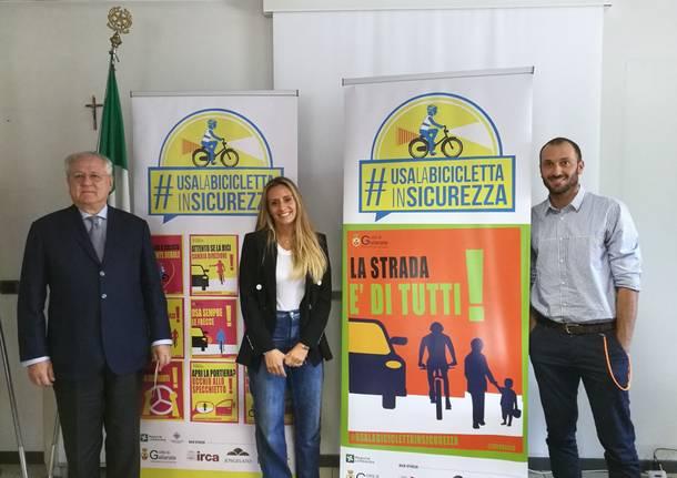 La nuova campagna per la sicurezza di Ivan Basso