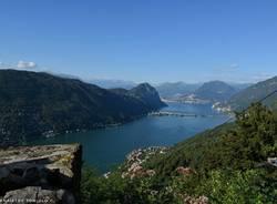 Lago Ceresio da Serpiano - foto di Gianpietro Toniolo