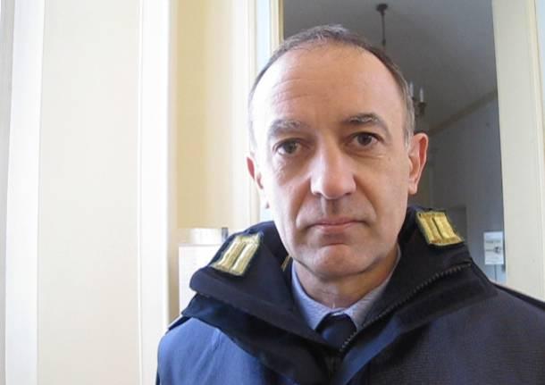 Matteo Ferrario, comandante dei Vigili di Varese