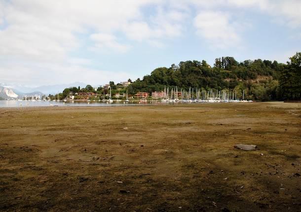 Monvalle - Lago Maggiore in secca