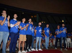 presentazione basketball gallaratese 2018