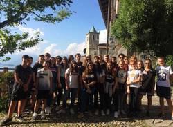 primo giorno di scuola del quadriennale all'Eremo di santa Caterina