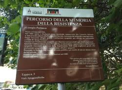 Rubata la targa in onore di Perlasca