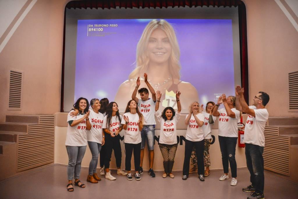 Sofia Belli, Miss Italia 2018 al Cinema Incontro di Besnate