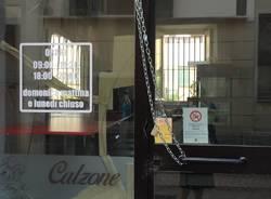 tentata rapina alla pizzeria di via Garibaldi