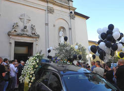 Varese: i funerali di Massimo Ligori