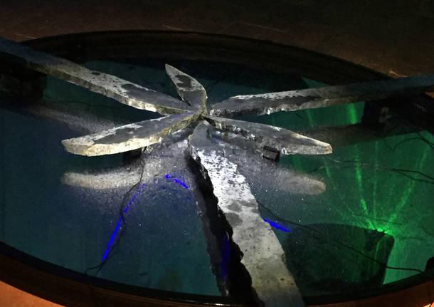 Varese: l'installazione a Villa Mirabello