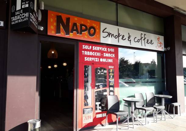 Napo Smoke and Coffee – Best Bar 2018